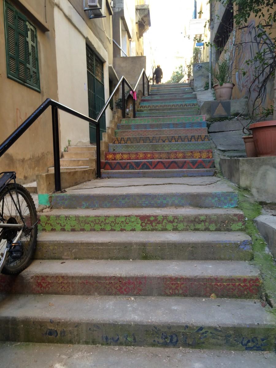 stairs, Lebanon 2016